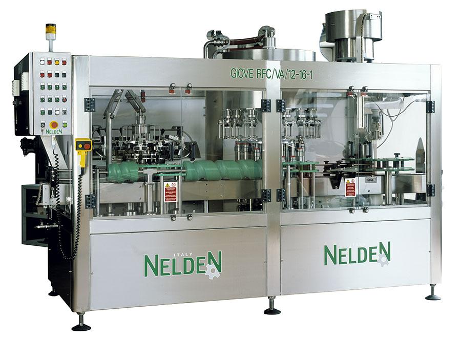 Riempitrice Gavimetrica Meccanica a livello per Bottiglie in Vetro e PEC